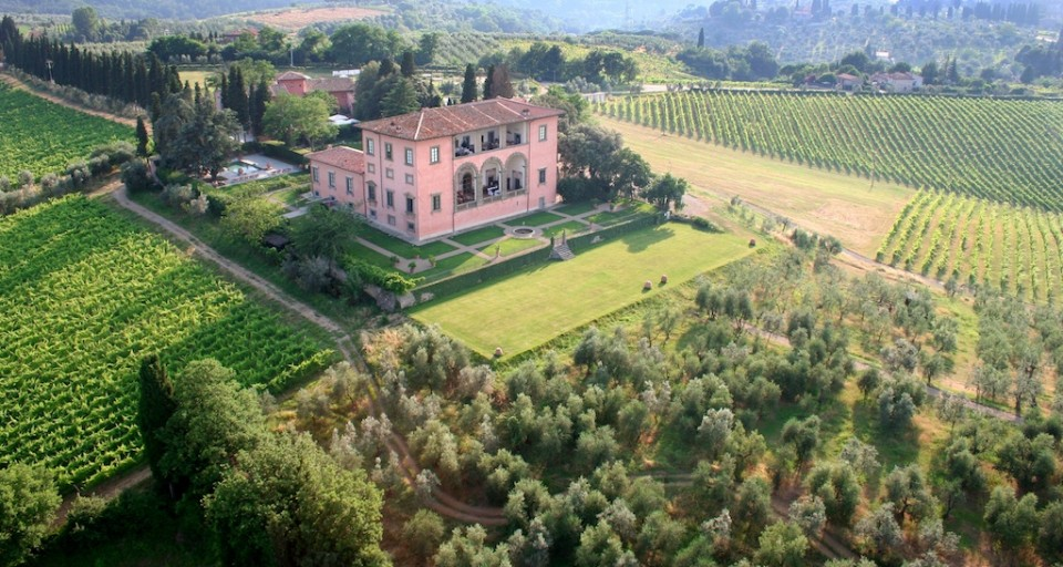 Inside Haute Living's Renaissance-Meets-Modern-Day Tuscan Experience At Villa Mangiacane