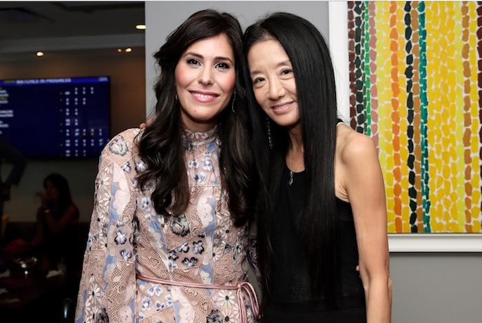 Cheryl Scharf and Vera Wang