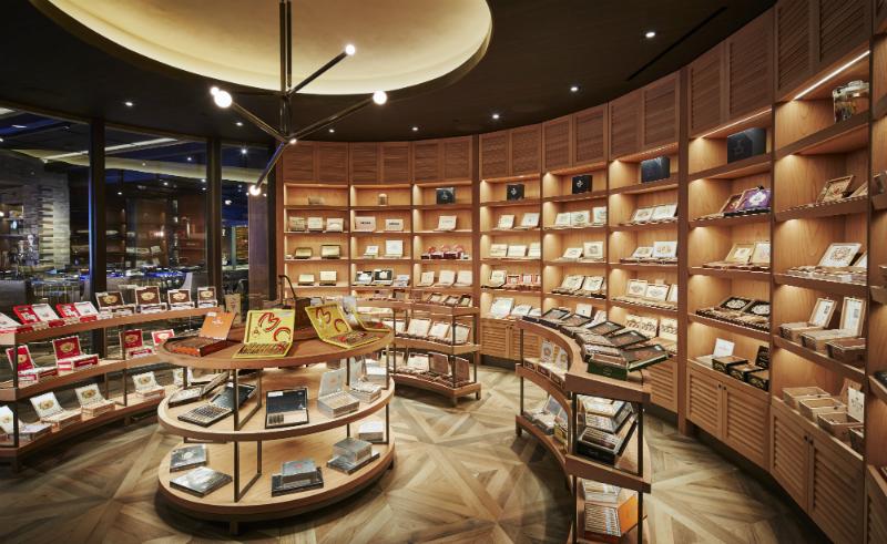 cigar bar retail