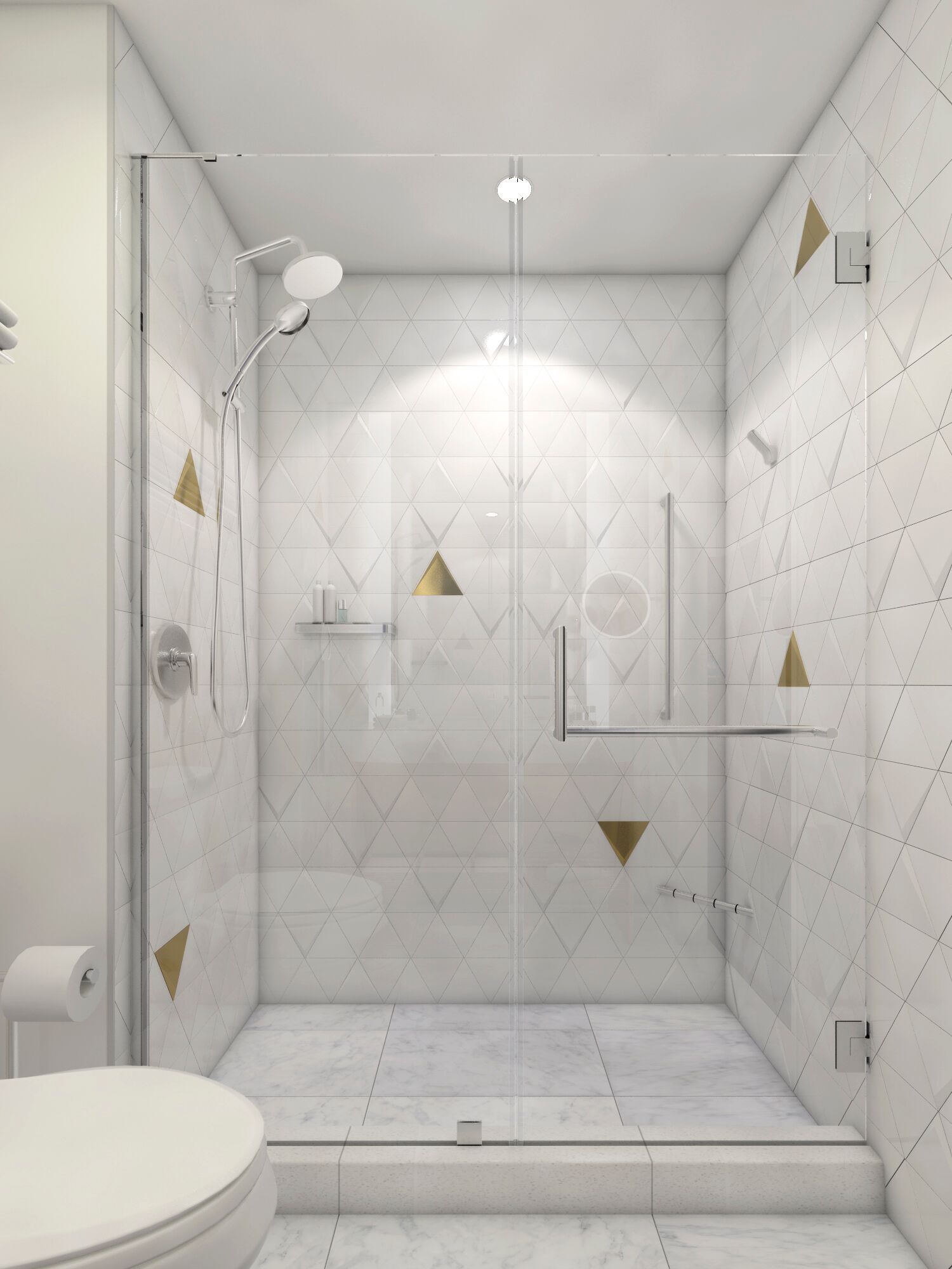 A remodeled bathroom