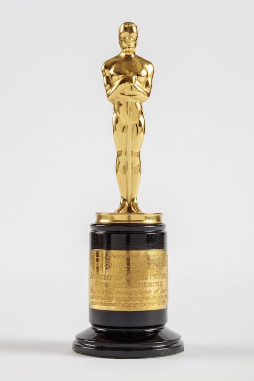 Academy Museum Shirley Temple Oscar
