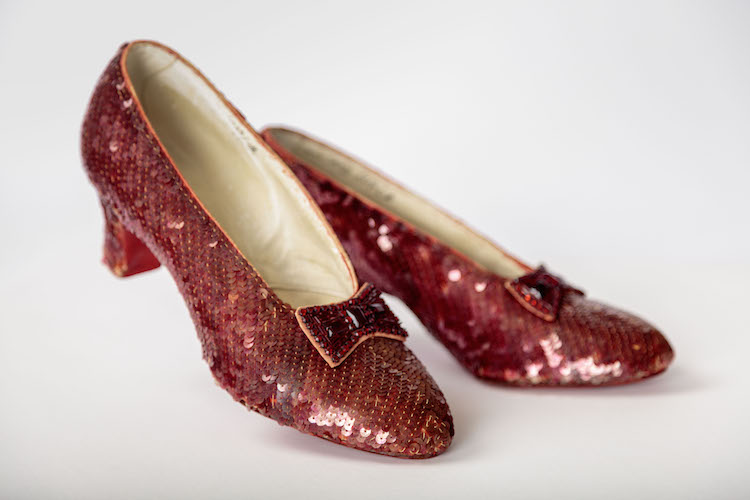 Academy Museum Wizard of Oz Ruby Slippers
