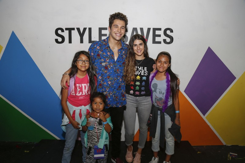Austin Mahone & Rachael Russell at the 2017 Style Saves Back-To-School Event