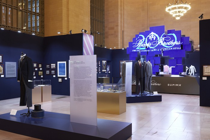 Brooks Brothers Grand Central Exhibition 1