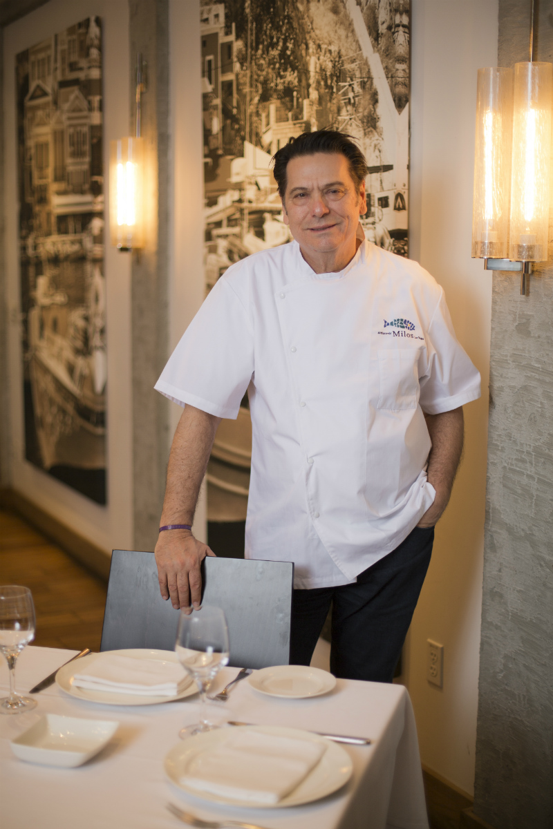 Chef Costas Spiliadis