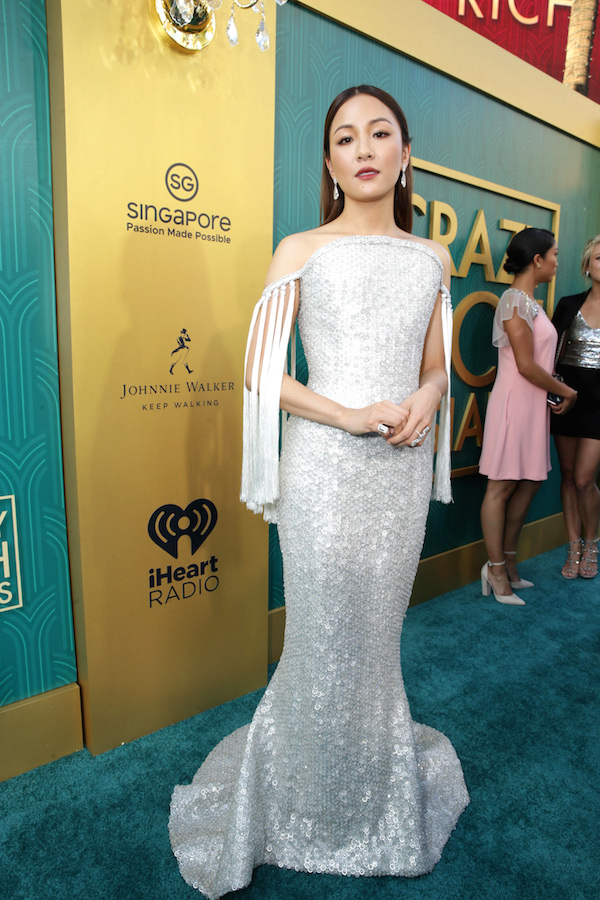 Constance Wu at the Crazy Rich Asians Premiere Presented by Johnnie Walker & Singapore in Hollywood, California