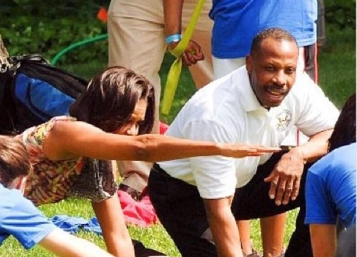 Cornell McClellan - Michelle Obama