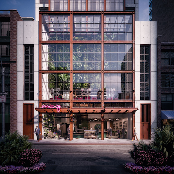 Moxy Chelsea To Open This Fall In Chesea S Flower District