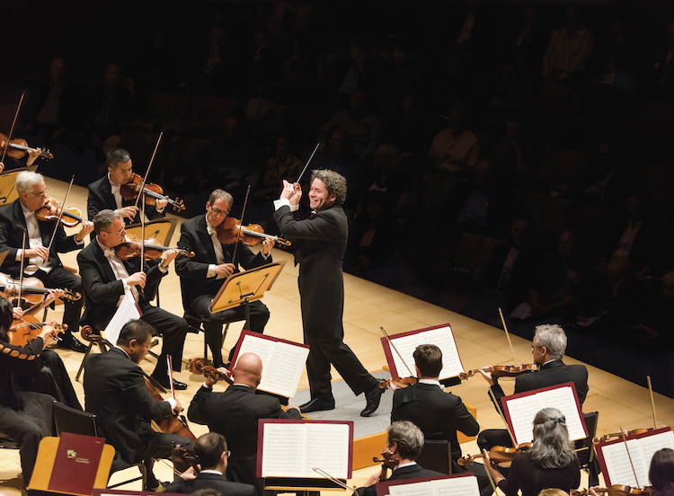 Gustavo Dudamel and LA Philharmonic