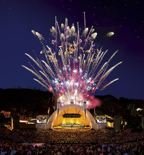 Hollywood Bowl fireworks