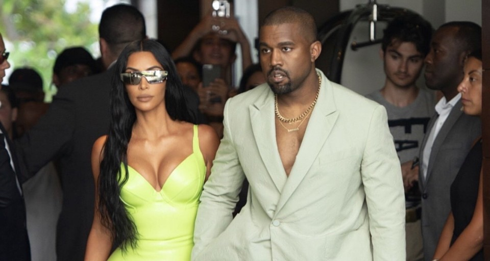 Kim & Kanye's Show-Stopping Designer Looks For 2Chainz Wedding In Miami