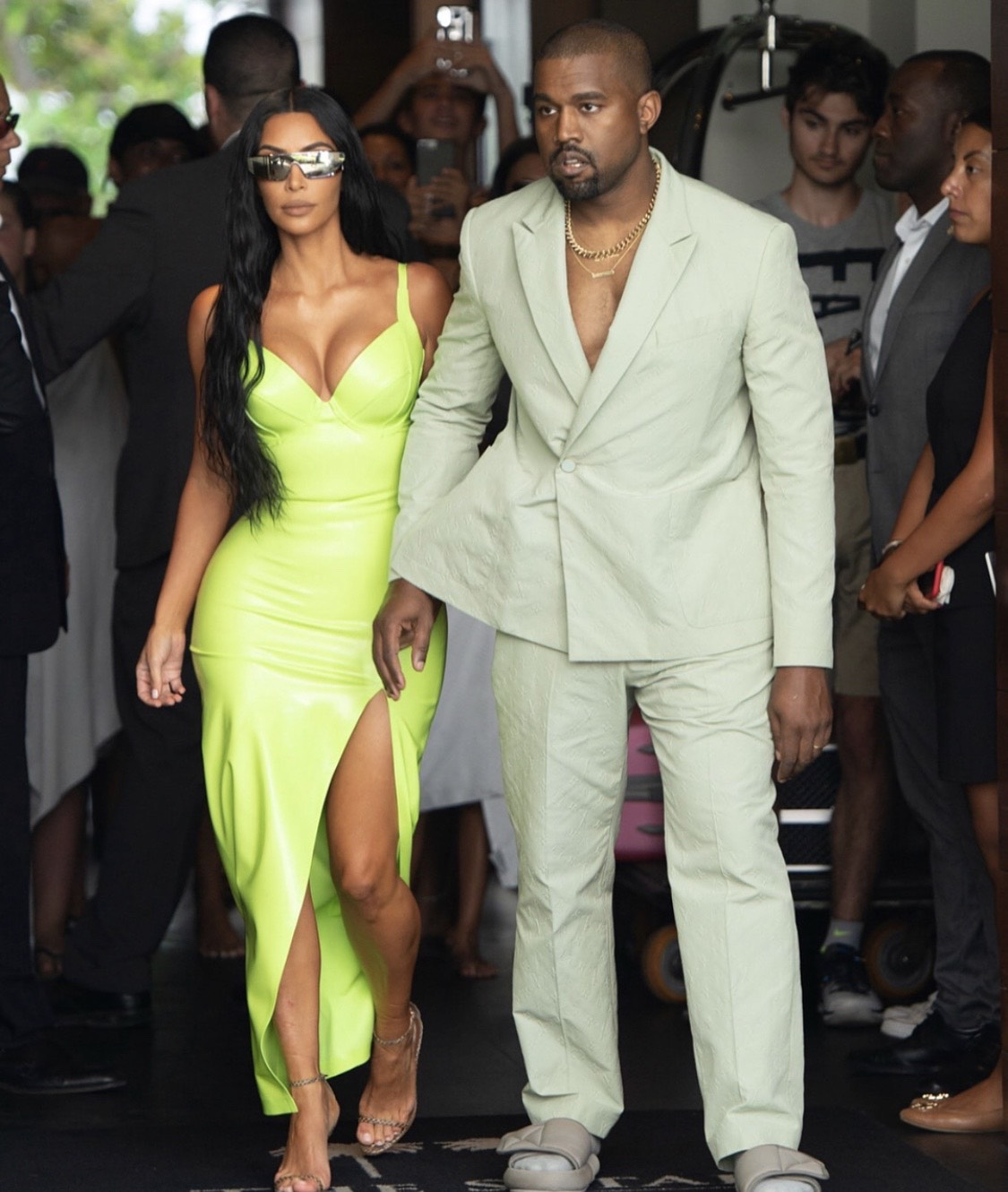 Kim Kardashian West Kimkardashian Kardashian: Kim & Kanye's Show-Stopping Designer Looks For 2Chainz
