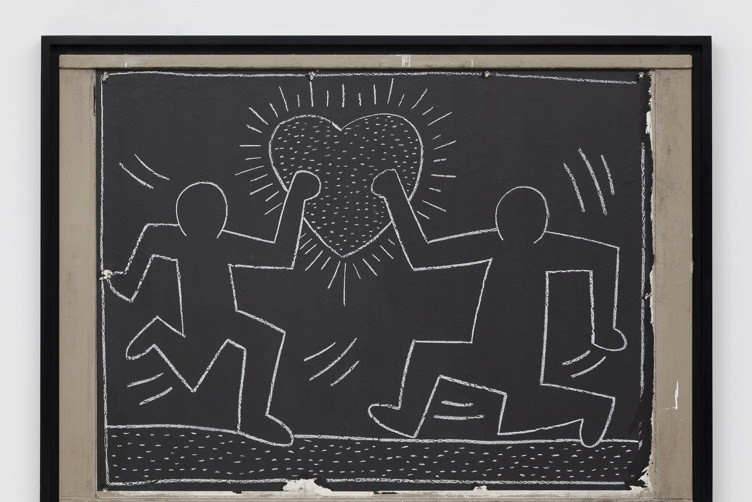 Keith Haring Untitled Subway Drawing 1981-1985