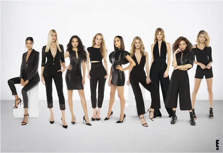 "Culpo and her ""Model Squad"" co-stars"