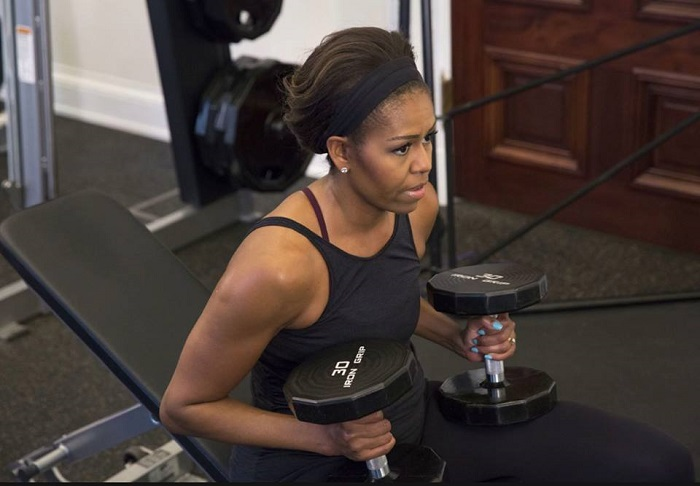 Naturally Fit - Michelle Obama