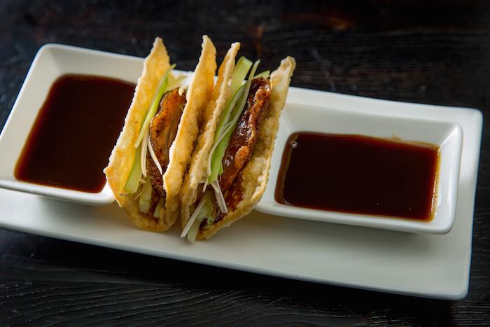 Peking Duck Tacos