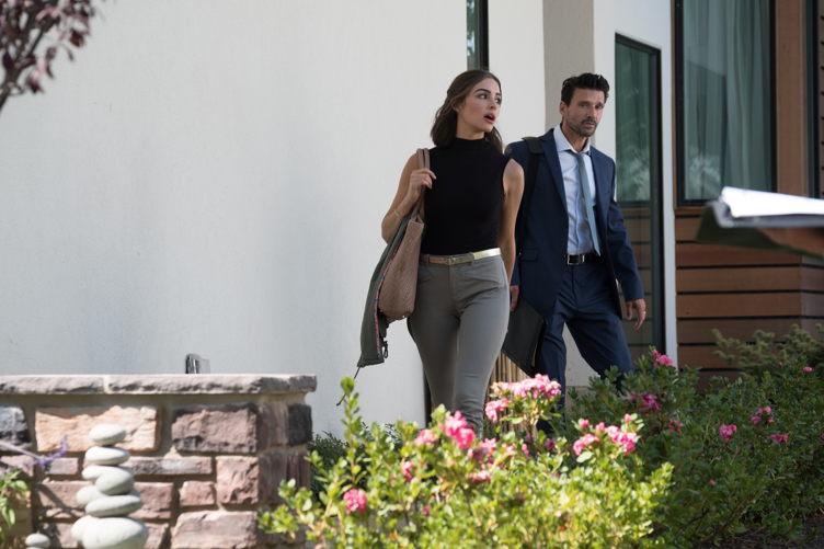 """Culpo with Frank Grillo in Lionsgate Premiere's """"Reprisal"""""""