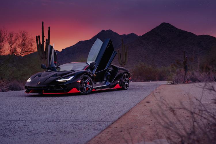 Mecum Auctions - 2017 Lamborghini Centenario LP770-4
