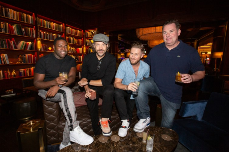 Sam Richardson, Jason Sudeikis and Billy Brimblecom at The Dorsey at The Venetian in Las Vegas.