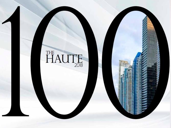 Haute 100 logo 2018