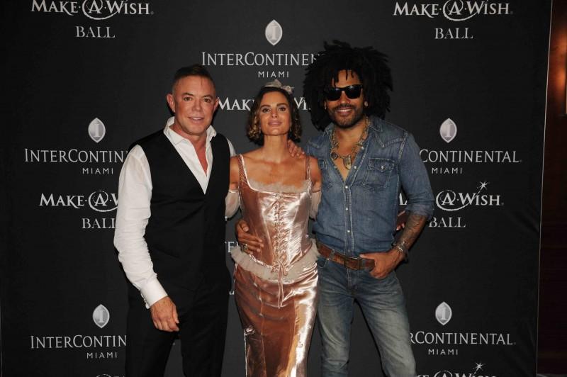 Shareef Malnik, Gabrielle Anwar, & Lenny Kravitz1