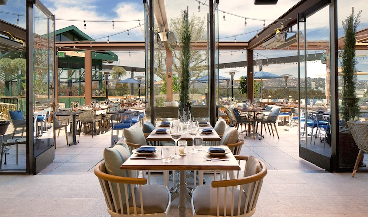 Terra rooftop restaurant at Eataly LA_Photo Eataly LA