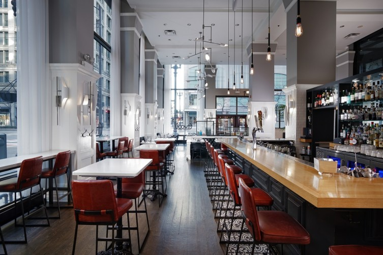 The Alise Chicago-Interiors-Atwood Bar