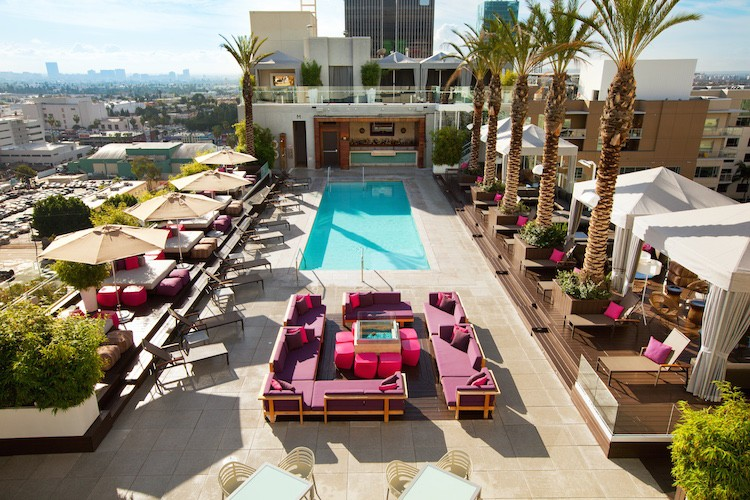 W Hollywood WET Deck