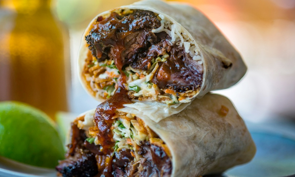 Border Grill Chef Mike Minor will cook a Burnt Ends Burrito during The Cookout.