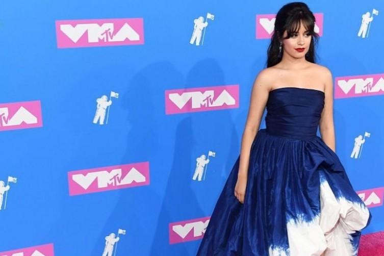 Camila Cabello in Oscar de la Renta