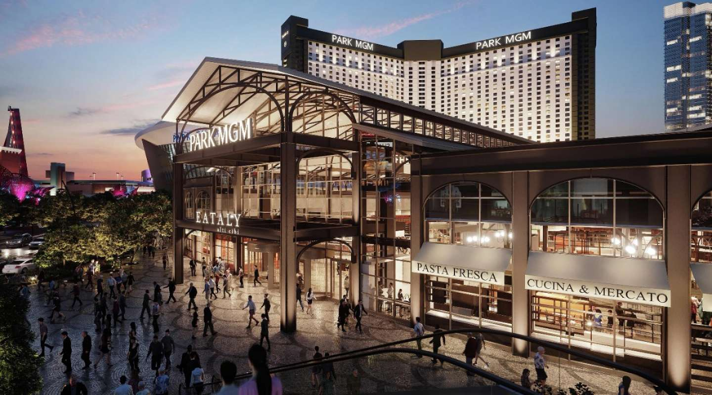 A rendering of the forthcoming Eately Las Vegas at Park MGM.