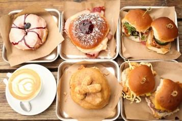 District: Donuts. Sliders. Brew. urban food hall