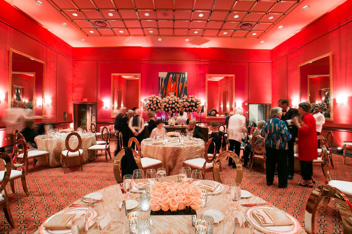 The setting for the 2017 Wattis Room dinner