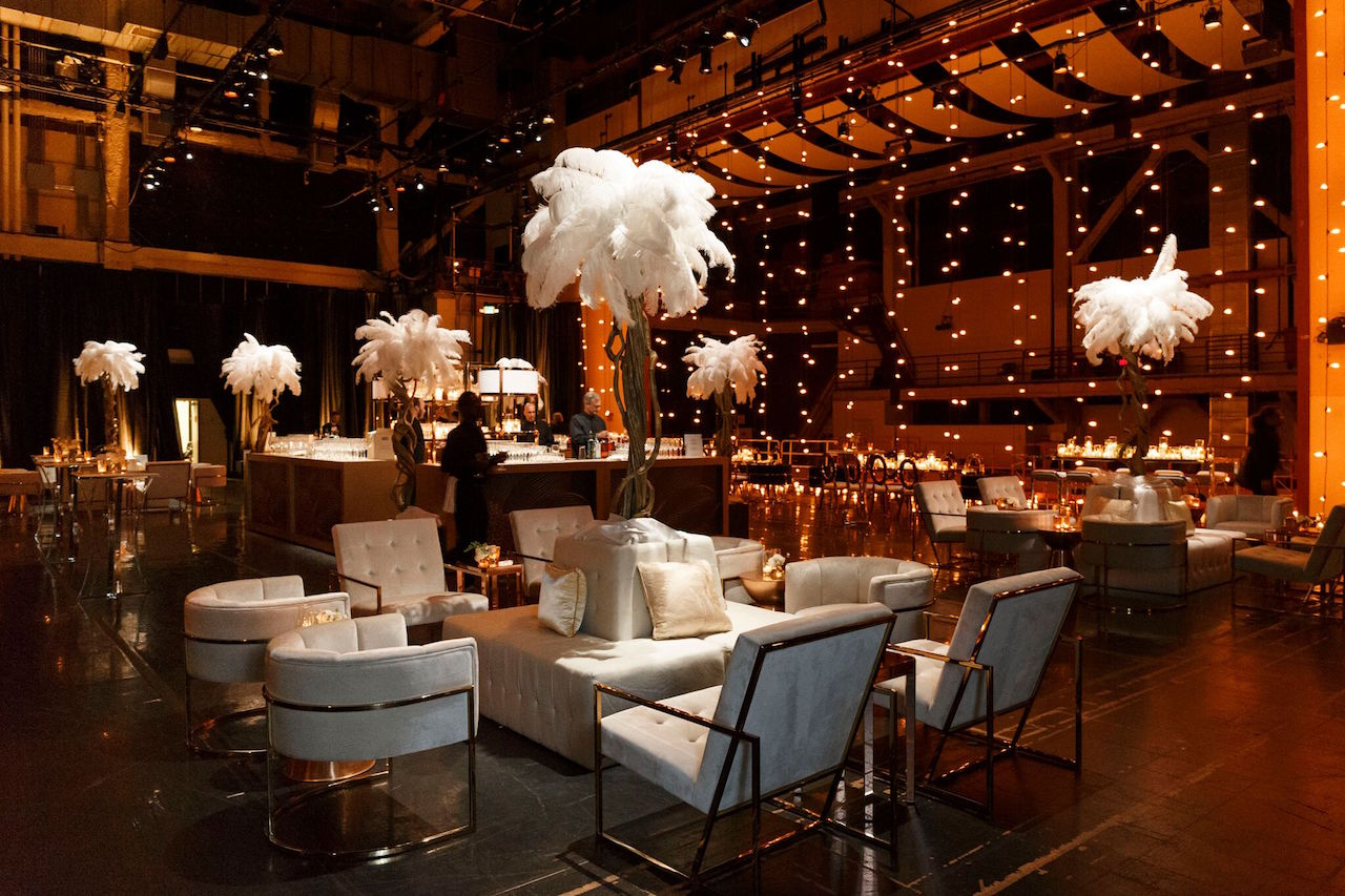 The setting for the after party