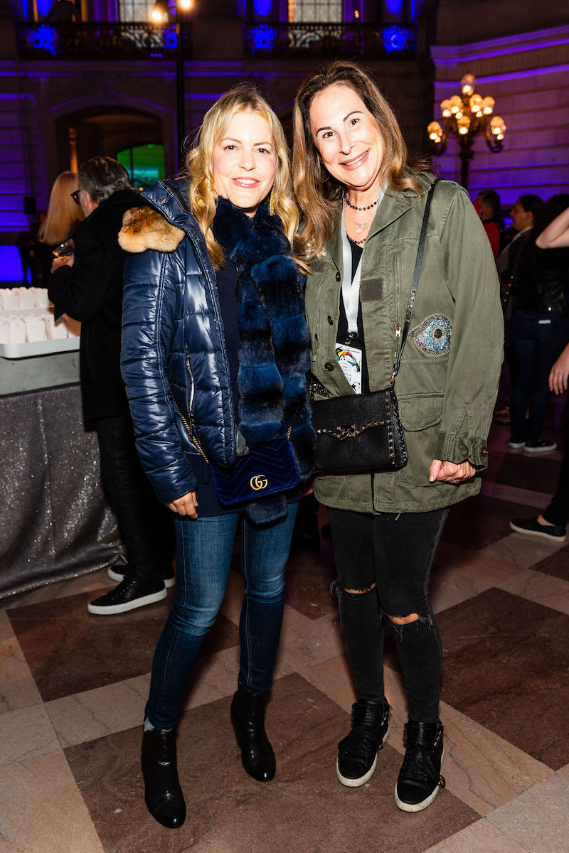 Suzanne Felson and Julie Benioff Young