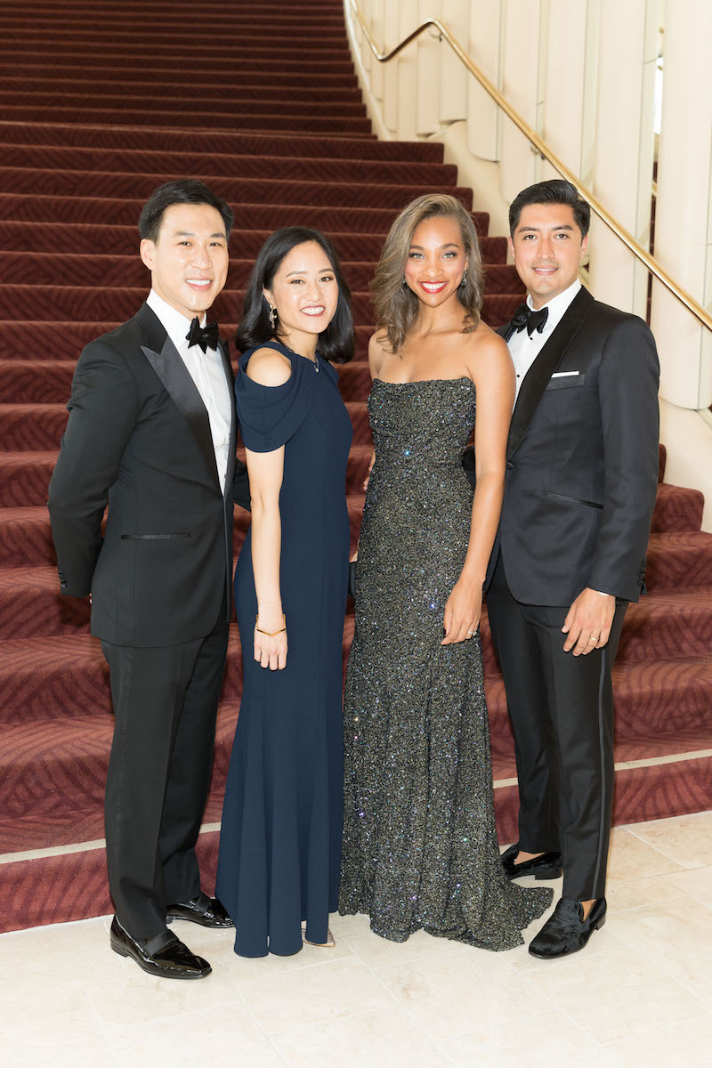 Kevin Yeh, Catherine Meng, Jerica Lee and Ariel Anaya