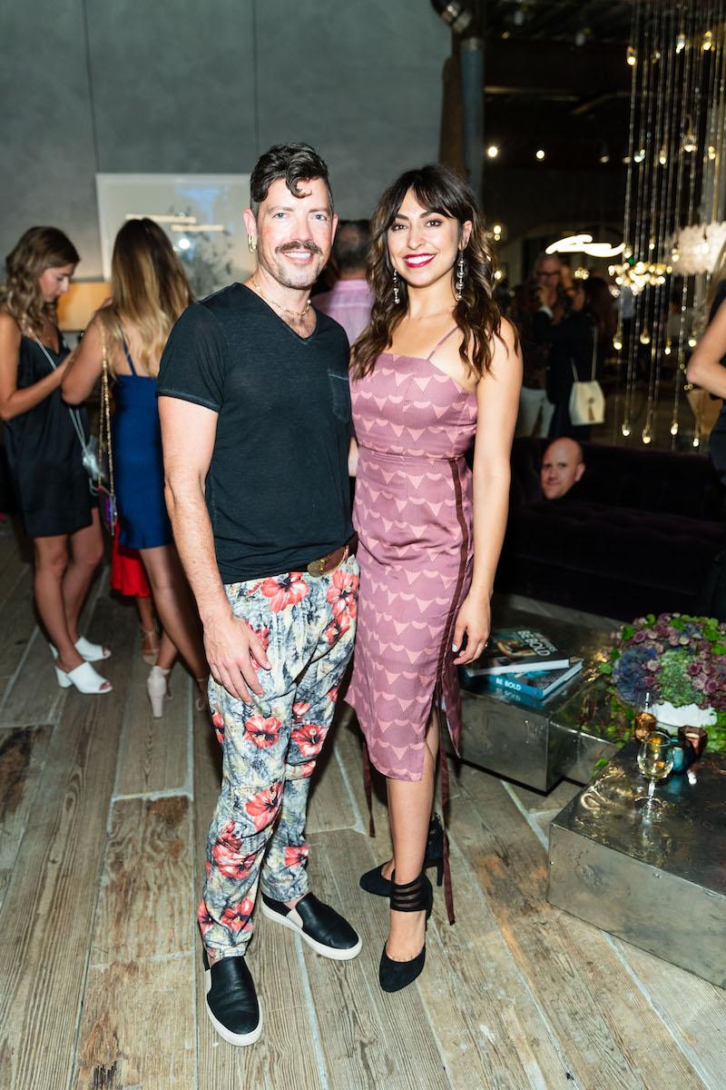 Rob Depew and Gabriella Marmalejo