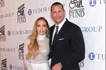1 – Jennifer Lopez and Honoree Alex Rodriguez