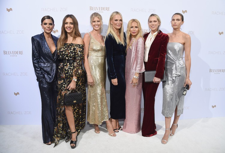 Rachel Zoe Debuts Feminine, French-Inspired Spring Collection At Hotel Bel-Air
