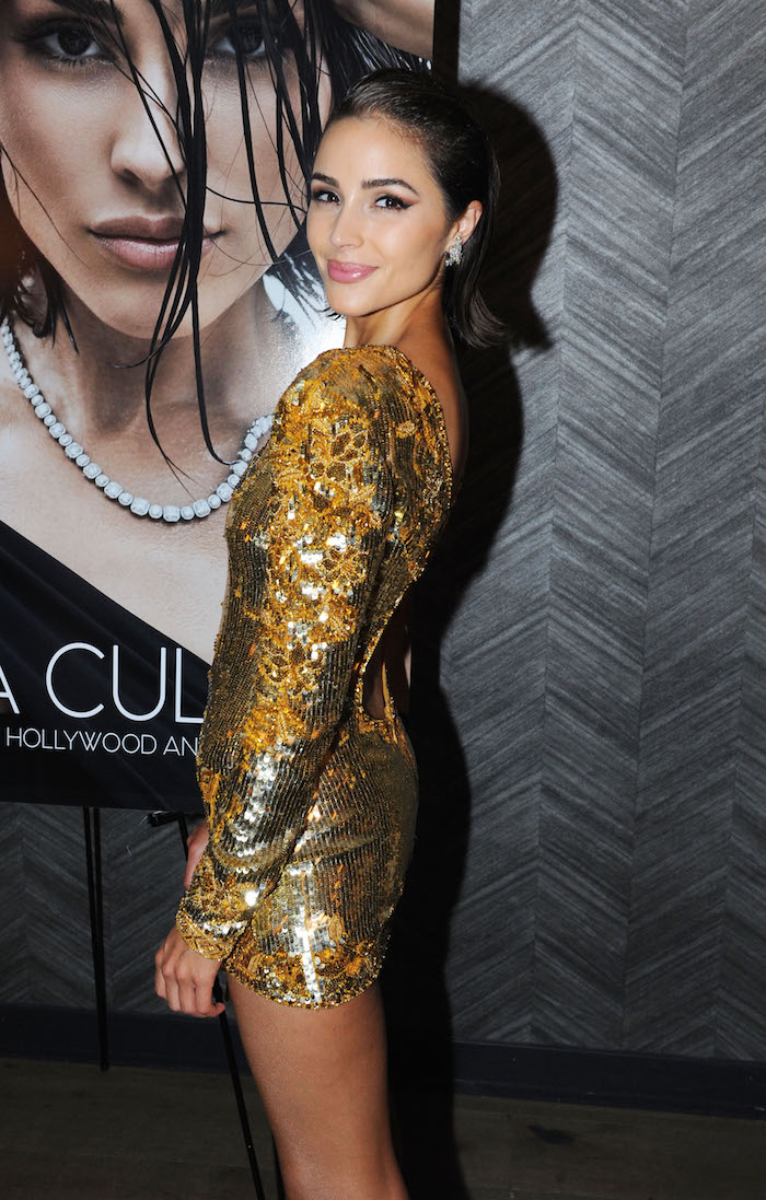 Olivia Culpo attends the Haute Living and Real Is A Diamond celebration of herNew York Cover during New York Fashion Week at Scarpetta, New York on September 6, 2018 in New York City.