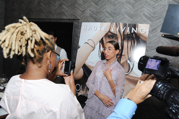 NEW YORK, NY - SEPTEMBER 06: A general view of atmosphere at the Haute Living and Real Is A Diamond celebration of Olivia CulpoÕs New York Cover during New York Fashion Week at Scarpetta, New York on September 6, 2018 in New York City.