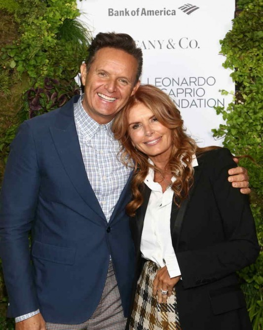 Mark Burnett and Roma Downey