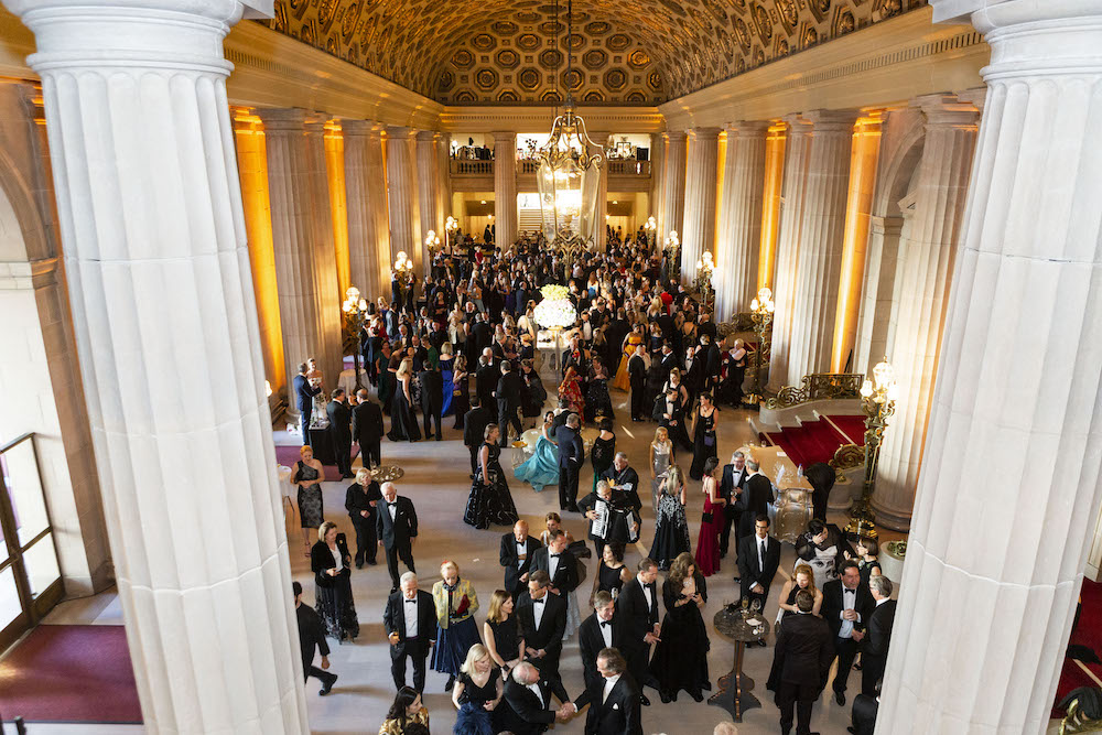 Atmosphere at San Francisco Opera Ball