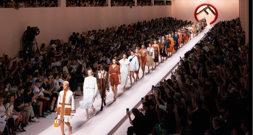 Kendall Jenner, Bella & Gigi Hadid And Kaia Gerber Walk FENDI SS 19 Show At Milan Fashion Week