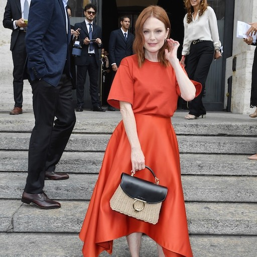 Salvatore Ferragamo Showcases Spring/Summer 2019 At Milan Fashion Week With A-List Attendees
