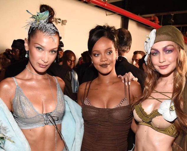 Rihanna's Savage X Fenty Fall/Winter 2018 Lingerie Show At NYFW Is Jaw-Dropping