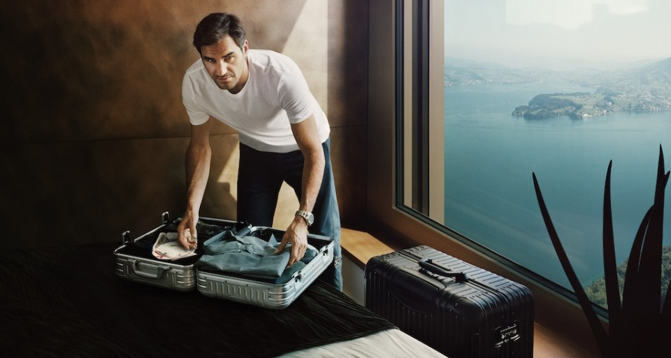 One-On-One With RIMOWA Chief Brand Officer Hector Muelas On Global Campaign With Roger Federer, Virgil Abloh, Nobu Matsuhisa & More