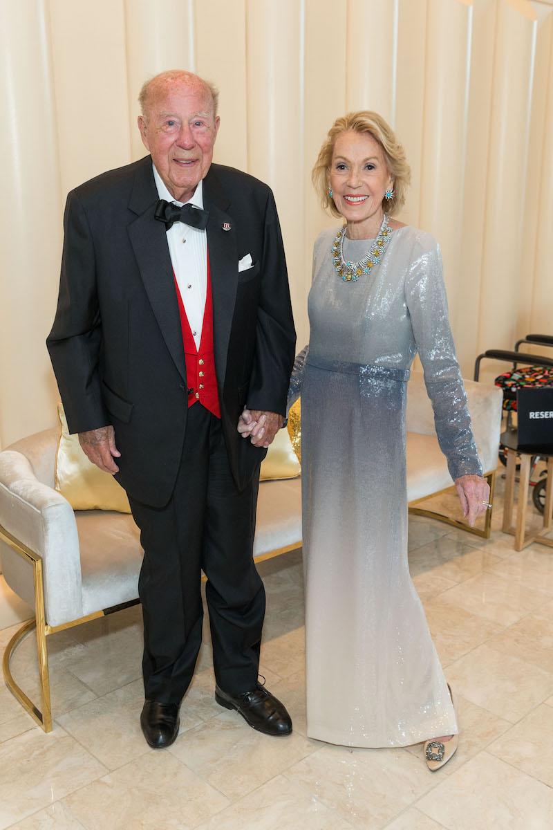 George Shultz and Charlotte Shultz