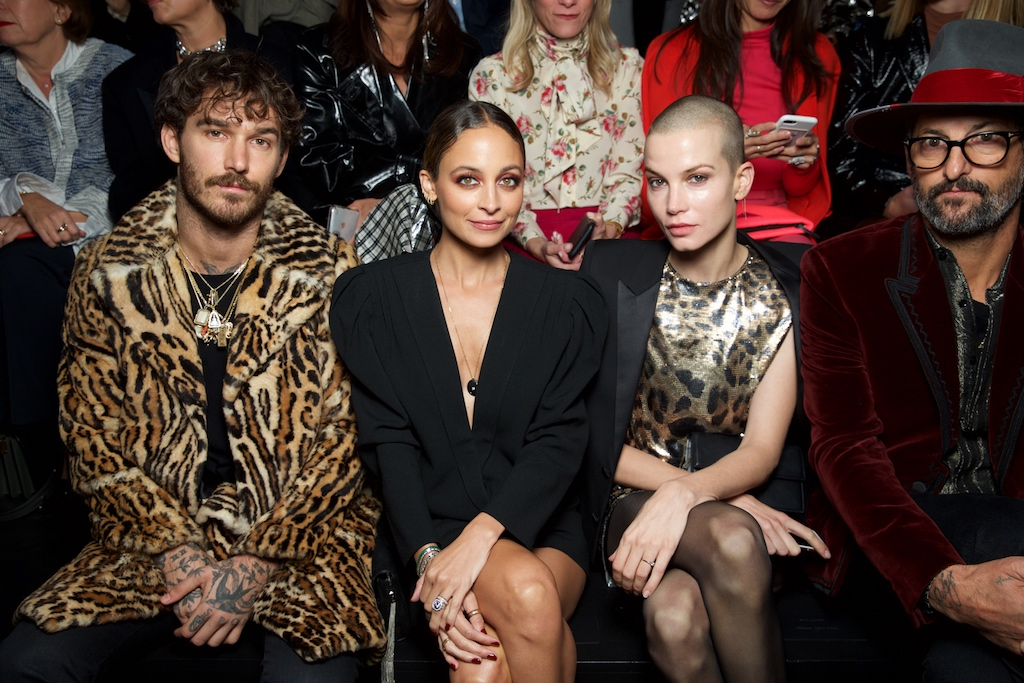 David Alexander Flinn, Nicole Richie, Sylvia Hoeks and Anthony Ward