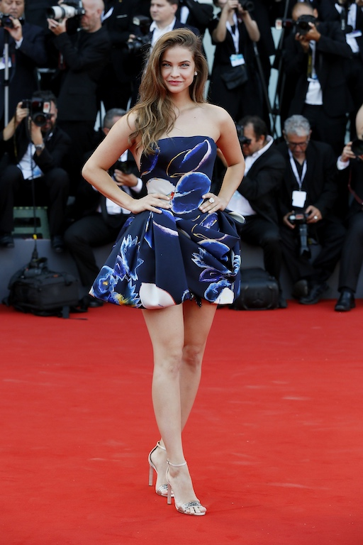 VENICE, ITALY - AUGUST 29: Barbara Palvin walks the red carpet ahead of the opening ceremony and the 'First Man' screening during the 75th Venice Film Festival at Sala Grande on August 29, 2018 in Venice, Italy. (Photo by Ernesto Ruscio/Getty Images)
